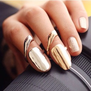 Other Gold Or Silver Plated Nail Ring