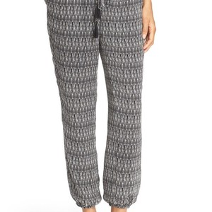 Joie Relaxed Pants Black and White