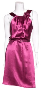 Vera Wang Lavender Label short dress Purple on Tradesy