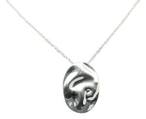 Tiffany & Co. Elsa Peretti Sterling Silver Leo Zodiac Large Pendant Necklace