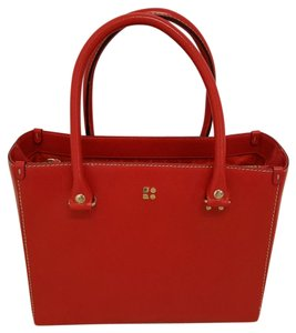 Kate Spade Structured Tote in Red