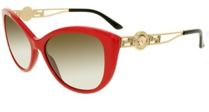 Versace Versace Women's Red Cat Eye Sunglasses
