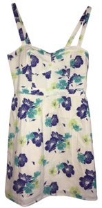 American Eagle Outfitters short dress white floral on Tradesy