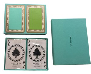 Tiffany & Co. * Trusted Tradesy Seller * Tiffany Double Deck Playing cards w/ Boxes