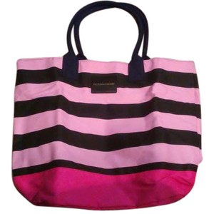 Victoria's Secret Ombre Tote in Pinks/Black
