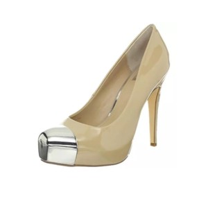 Dolce Vita Cream Silver Pumps