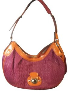 Guess Orange Pink Shoulder Bag