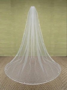 New. 1 Layer Wedding Bridal Cathedral Veil