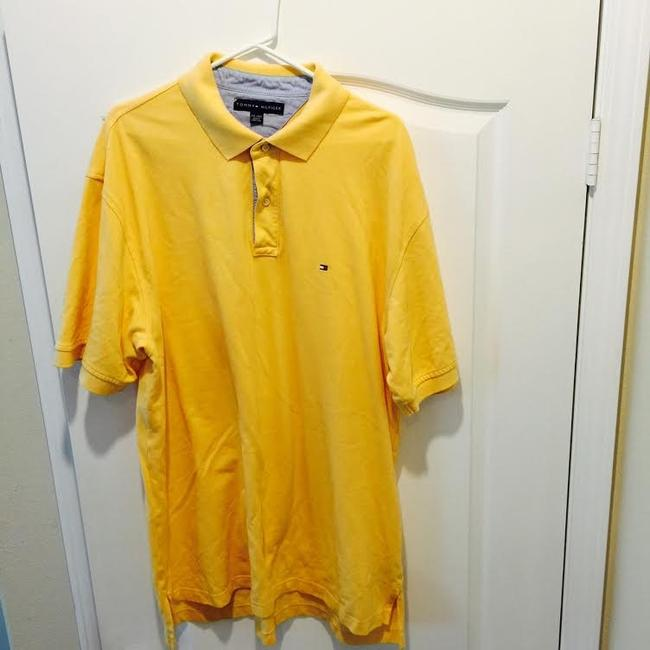 Tommy Hilfiger Polo Button Down Shirt Yellow