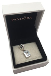 PANDORA Pandora Mother's Day We love you 14kt charm in original gift pouch