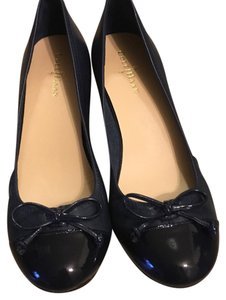 Cole Haan navy Wedges