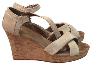 TOMS taupe Sandals