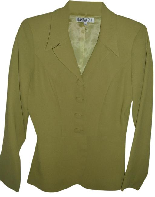 Preload https://img-static.tradesy.com/item/21176330/rampage-olive-cute-suit-jacket-lime-khaki-pastel-green-covered-buttons-blazer-size-6-s-0-1-650-650.jpg