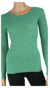 Northwest Blue Ribbed Cotton Sweater