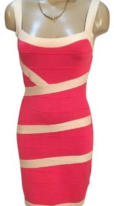 Forever 21 short dress Coral & Tan on Tradesy