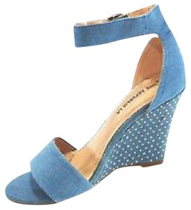 Shoe Republic LA BLUE Wedges