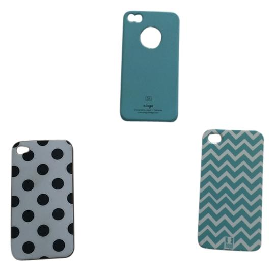Preload https://img-static.tradesy.com/item/2117662/blackwhitemint-3-iphone-4-cases-tech-accessory-0-0-540-540.jpg