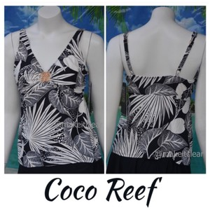 Coco Reef palm print tankini top swim suit