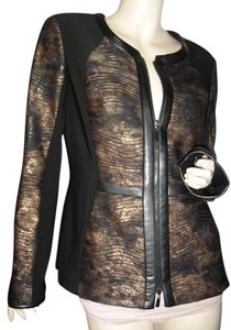 Joseph Ribkoff brown black Jacket