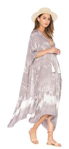 tie dye grey Maxi Dress by Young Fabulous & Broke New Ybf Cover Up Maxi