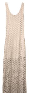 cream Maxi Dress by Forever 21