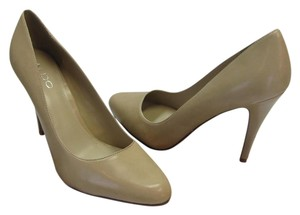ALDO Size 8.50 M Very Good Condition Taupe Pumps