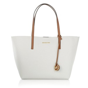 Michael Kors Hayley Tote in Vanilla