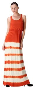 Rust Maxi Dress by York Couture