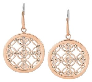 Michael Kors NWT Michael Kors Rose Gold Heritage Drop Earrings MKJ4279791