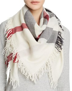 Burberry Burberry Color Check Wool Scarf Merino wool