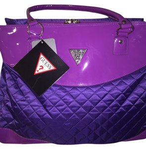 Guess Purple Travel Bag