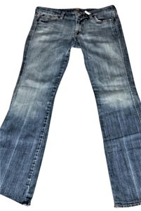 7 For All Mankind Seven7 7fam Flare Leg Jeans-Distressed