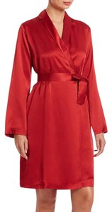 La Perla short dress red Silk Robe Wrap on Tradesy