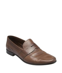 Prada Loafers Leather Brown Boots