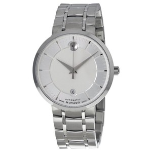 Movado Movado 1881 Automatic Silver Dial Mens Stainless Steel Watch 0606915
