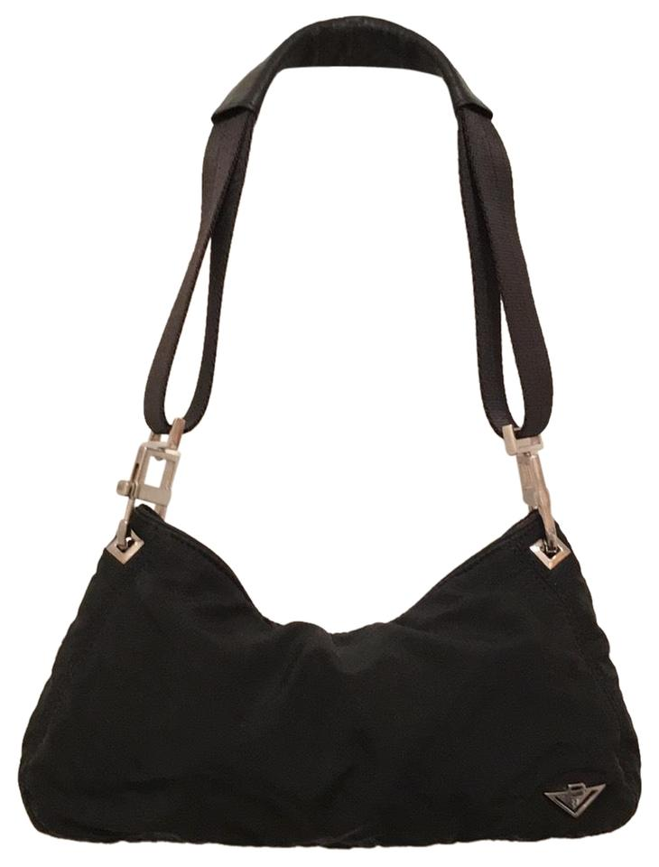 b367be4301 Bottega Veneta Black Nylon Hobo Bag - Tradesy