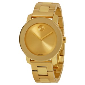 Movado Movado Bold Polished Yellow Gold-tone SS Ladies Watch 3600085