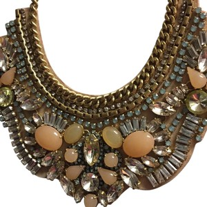 Stella & Dot Beaded Bib Necklace
