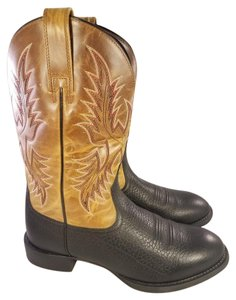 Ariat Western Cowboy Old West Classic black and brown Boots