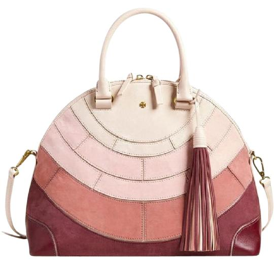 Preload https://img-static.tradesy.com/item/21178224/tory-burch-pieced-leather-dome-factory-packaging-light-oak-suede-satchel-0-1-540-540.jpg
