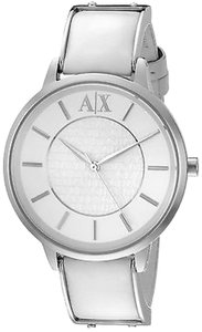 A|X Armani Exchange Armani Exchange White Leather Ladies Watch Ax5300