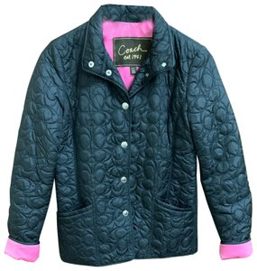 Coach 1941 Quilted Style Black Jacket