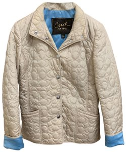 Coach 1941 Quilted Tan Jacket