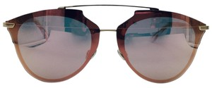 Dior Dior Rose Gold Reflected Prism Aviator Sunglasses S5ZRG 63