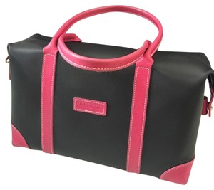 Longchamp Satchel in Black, Pink