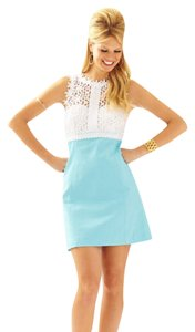 Lilly Pulitzer Shift Breakers Lace Size 14 Dress