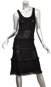 BLACK Maxi Dress by Chanel 06c