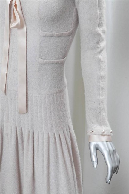 blush Maxi Dress by Chanel Spring Cashmere Image 5