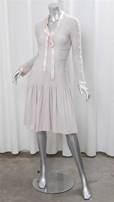blush Maxi Dress by Chanel Spring Cashmere Image 6