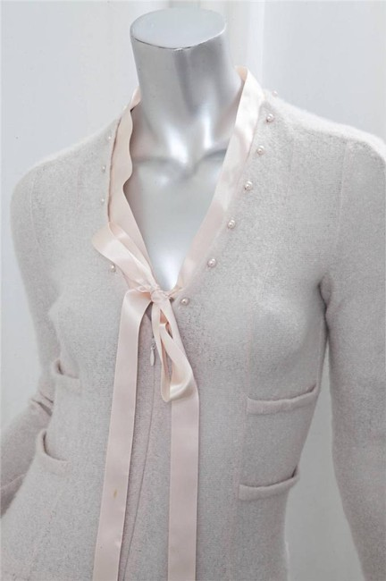 blush Maxi Dress by Chanel Spring Cashmere Image 7